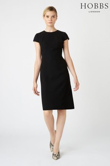Hobbs Black Kiera Dress
