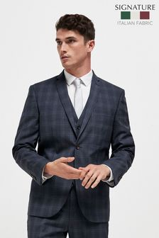 Signature Check Suit: Jacket