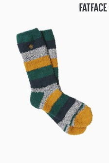 FatFace Blue Stripe Idaho Socks