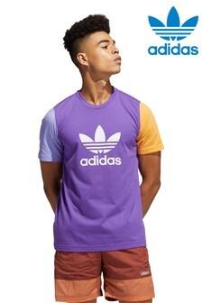 adidas Originals Colourblock Trefoil T-Shirt