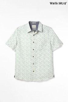 White Stuff Seagulls Hemd mit Print, Grau