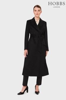 Hobbs Black Olivia Coat