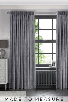 Makrana Slate Grey Made To Measure Curtains