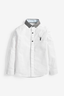 Check Collar Shirt (3-16yrs)