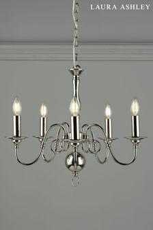 Chrome Winchester 5 Light Pendant Ceiling Light