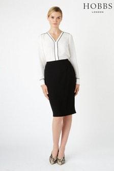 Hobbs Black Kiera Skirt
