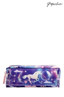 Paperchase Unicorn Multipocket Pencil Case