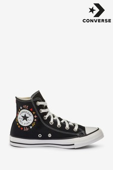 Converse Black All Star High Trainers