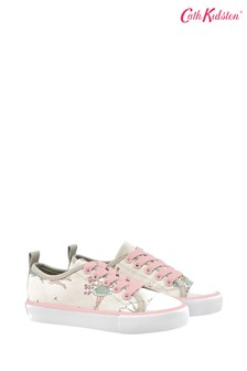 Cath Kidston® Kids Garden Fairies Low Top Trainers