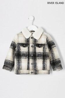 Клетчатая куртка-рубашка River Island