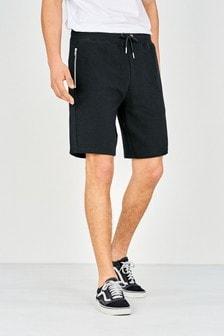 Textured Jersey Shorts
