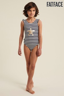 FatFace Starfish Stripe Swimsuit