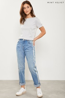 Mint Velvet Dakota Foiled Boyfriend Jeans