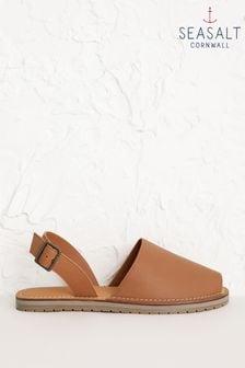 Seasalt Brown Open Skies Sandals