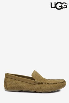 UGG® Tan Suede Loafers