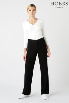 Hobbs Black Kiera Trousers