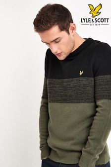 Lyle & Scott Chest Panel Jumper