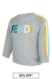 Fendi Kids Cotton Sweat Top