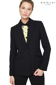Damsel In A Dress Black Lydia City Suit Jacket