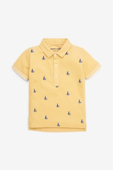 Yacht Short Sleeve Polo (3mths-7yrs)