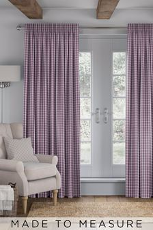 Malvern Mulberry Purple Made To Measure Curtains