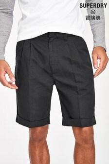 Superdry Black Edit Chino Shorts
