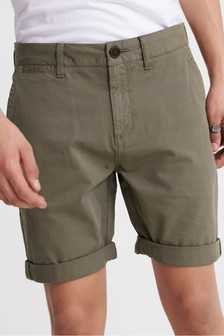 Superdry Olive Chino Shorts
