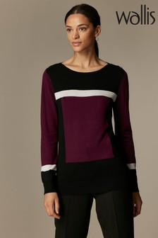 Wallis Red Striped Jumper