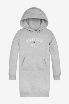 Tommy Hilfiger Girls Essential Hoodie Dress
