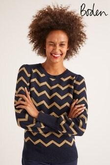 סוודר של Boden דגם Antonia בכחול
