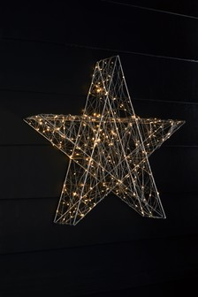 Light Up Metal Star