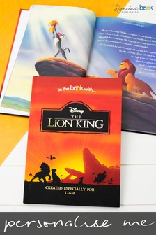 Personalised The Lion King Collection Book by Signature Book Publishing