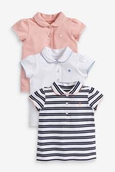 3 Pack Polo T-Shirts (3mths-7yrs)