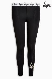 Hype. Black And Gold Legging