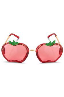 Monnalisa Girls Red Sunglasses