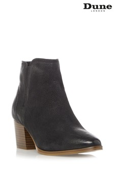 Dune London Payge Mid Block Heel Ankle Boots