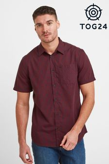 Tog 24 Red Foster Mens Check Shirt