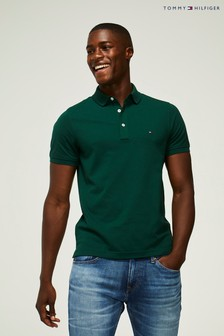 Tommy Hilfiger Green Slim Fit Polo