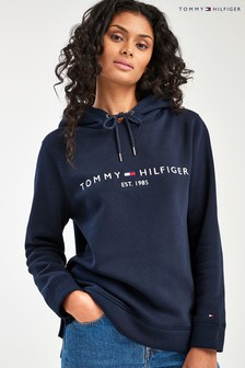 Tommy Hilfiger Blue Essential Hoody