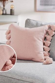 Cluster Tassel Cushion