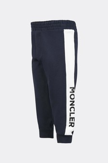 Moncler Enfant Baby Boys Navy Cotton Joggers