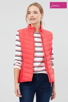 Joules Red Fallow Padded Gilet