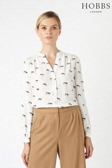 Hobbs White Kira Shirt