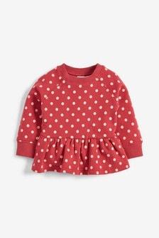 Peplum Sweatshirt (3mths-7yrs)