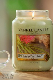 Yankee Candle Classic Large Lemon Grass And Ginger Candle