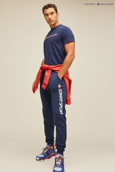 Tommy Hilfiger Sport Logo Tapered Joggers