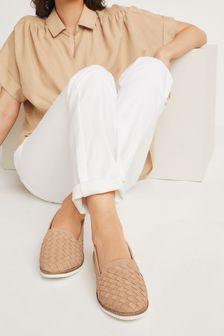 Weave Slipper Cut Eva Slip-On Shoes