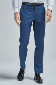 Belted Stretch Trousers
