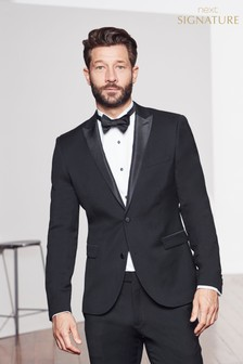 Tollegno Signature Tuxedo Slim Fit Suit