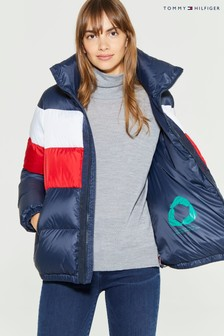 Tommy Hilfiger Red Naomi Recycled Down Jacket